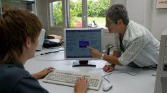 Frequenzmessung am PC (Bild: BerufeNET)