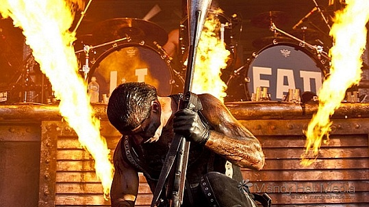 Rammstein beim Big Day Out Melbourne 2011 (Bild: flickr.com/MandyHallMedia)