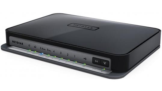 Der neue Netgear N750 Wireless Dualband Router schafft 750 Mbit/s. (Bild: Netgear)