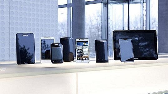 Auswahl aus der Smartphone-Palette bei O2 (Bild: ©O2)