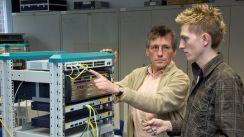 Einrichten eines Servers (Bild: BerufeNET)