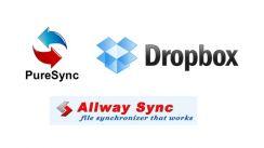 Diese drei Anwendungen unterstützen den beim Synchronisieren von Dateien tatkräftig. (Bild: Michael Friedrichs)