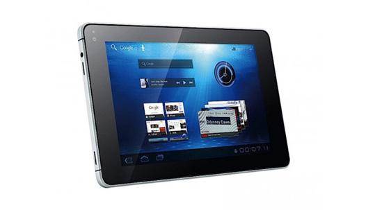 Das MediaTab ist das erste Tablet mit Android 3.2 Honeycomb und soll in kürze erscheinen. (Bild: Huawei)