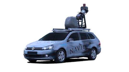 Dieses Kameraauto wird im Auftrag von Microsofts Bing Maps Streetside deutsche Straße unsicher machen. (Bild: NAVTEQ)